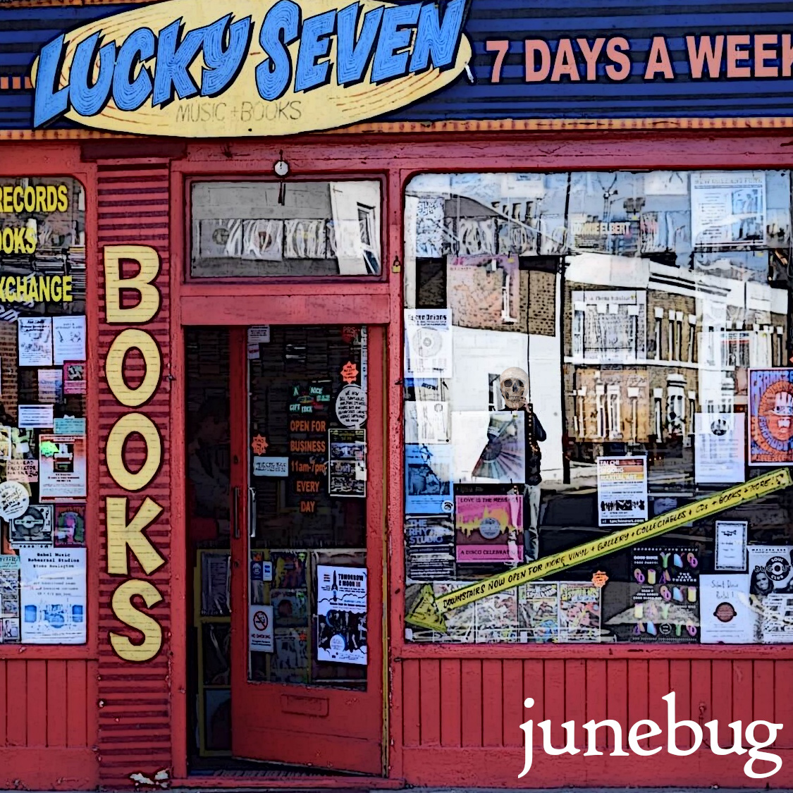 Luck Seven by Junebug (2020) - Album Art
